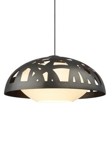 "Tech Lighting 700Mpvntz-Led Ventana - 12"" Led Monopoint Pendant, Antique Bronze Finish With White Case Glass"