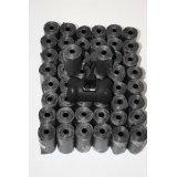 750 Scented Black Thick Pet Animal Dog Puppy Waste Poop Bags w/ FREE Baggie Dispenser