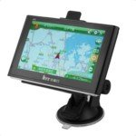 HX-803 5-inch TFT Touch Screen WinCE. 6.0 Gore Portugal Map 4GB GPS Navigator with FM/SD Card Slot