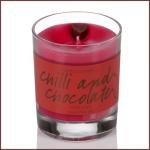 Bomb Cosmetics Scented Candle Tin, Chilli and Chocolate