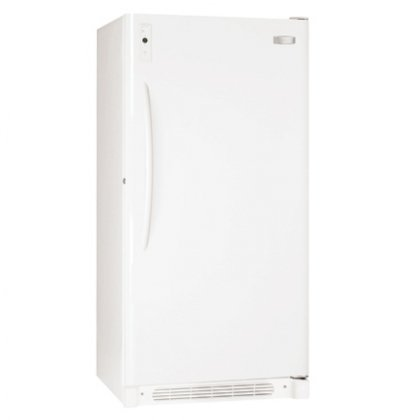 Frigidaire FFU17F5HW 16.7 Cubic Foot Upright Freezer with Automatic Alerts and Frost-Free Operation, White