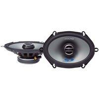 Alpine Sps507 / Sps-507 / Sps-507 5X7 Coaxial 2-Way Speaker Set