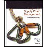 Principles of Supply Chain Management, 3rd edition