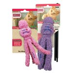Kong Cat Hugga Wubba Teaser Stick with Catnip Scent - the ultimate cat toy (pink)