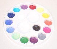 14 COLOR PAINT WHEEL Snazaroo Face Painting Pallet