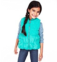 Shower Resistant Nehru Collar Heart Gilet