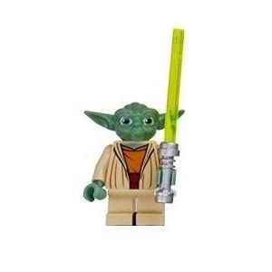 LEGO STAR CLONE WARS YOUTH WATCH W/ YODA MINI-FIGURE NEW ...