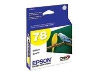 Epson 78 - Print cartridge - 1 x yellow - CLARIA HI DEF INK YLW STYLUS PHOTO R380 RX580