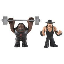 WWE Rumblers Undertaker And Mark Henry Figure 2-Packs