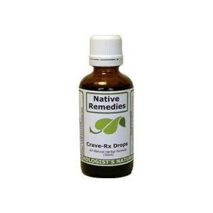 Native Remedies Crave-Rx Drops Nicotine Craving & Withdrawal Control