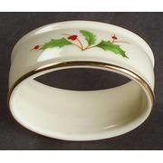 Lenox Holiday Napkin Rings Set of 4