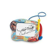 High-Quality Magnetic Drawing Screen In A Fun Cars 2 Racing Frame! - Fisher-Price Kid-Tough Doodle Pro Disney/Pixar Cars 2 Porta Costa