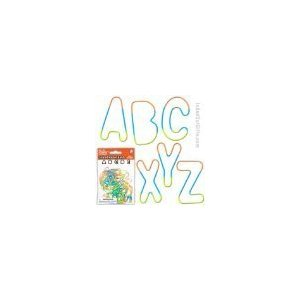 Pk/26 Alphabet Rubber Bands Bracelets - 1