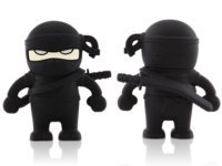 Black Ninja 4GB USB Flash Drive