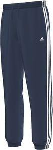 Adidas X20033Pantaloni di tuta per uomo Essentials 3S Woven Closed Hem Blu Navy XXL, - Bleu marine
