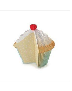 3D Cupcake Memo Pad