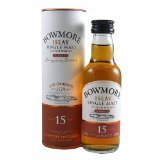 Bowmore Darkest 15 year old Single Malt Whisky 5cl Miniature