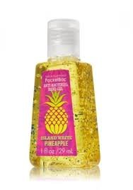 Bath and Body Works Anti-bacterial Pocketbac Deep Cleansing Hand Gel Island White Pineapple tapan kumar dutta and parimal roychoudhury diagnosis and characterization of bacterial pathogens in animal