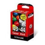 Lexmark Combo Pack #43xl + #44xl - Print Cartridge