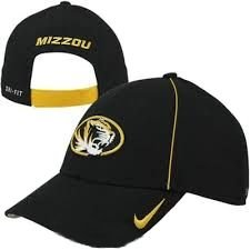 Missouri Mizzou Tigers Licensed Nike Dri-Fit Coaches Legacy 91 Black Hat (One Size... by Nike