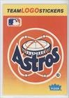 Houston Astros (Baseball Card) 1991 Fleer Team Stickers Inserts #HOU