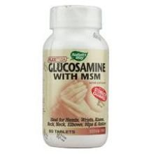 Natures Way Flexmax Glucosamine With Msm Tablet - 80 Per Pack -- 3 Packs Per Case.