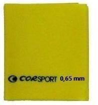 AEROBIC BAND CORSPORT 120X15 SPESSORE 0.65MM GIALLO COR SPORT
