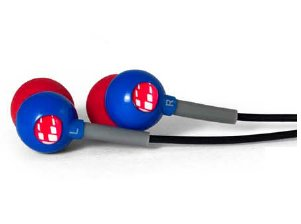 H2O Audio Cb1-Rb Flex All Sport Waterproof In-Ear Headphones (Super Hero Blue)