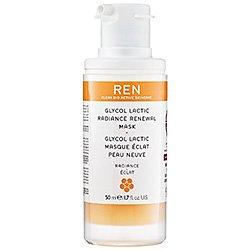 REN Glycol Lactic Radiance Renewal mask (Quantity of 1)