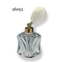 ドイツ製クリスタル香水瓶リードクリスタル 短 20cc ホワイト 26052 0916235