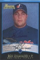 Ron Chiavacci Jupiter Hammerheads - Expos Affiliate 2001 Bowman Rookie Autographed... by Hall of Fame Memorabilia
