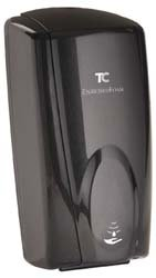 Technical Concepts 750127 1100ml Wall-Mt Blk/Blk Touch-Free Foam Soap Disp