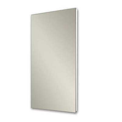 Jensen 1035P34WHG Cove Medicine Cabinet with Polished Mirror, 16-Inch by 36-Inch