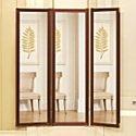 Joy Mangano Image 4 Deluxe Four-Panel Dressing Mirror
