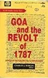 img - for Goa and the Revolt of 1787 book / textbook / text book