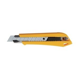Snap N Trap Utility Knife, 18Mm, Ylw/Blk