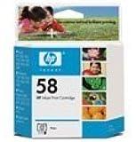 HP Photo Inkjet print cartridge 58