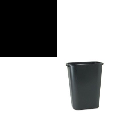 Kitkim91590Rcp295700Bk - Value Kit - Kleenex Luxury Foam Moisturizing Instant Hand Sanitizer 1200 Ml Refill (Kim91590) And Rubbermaid Deskside Plastic Wastebasket (Rcp295700Bk) front-990903