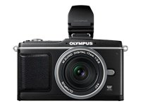 Olympus E-P2 Compact System Camera (17mm pancake lens  &  VF-2 electronic viewfinder)