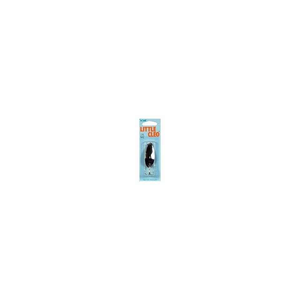 2 Pks Nickel//Neon Green /& Nickel//Neon Blue Acme Tackle LITTLE CLEO 2//5 oz