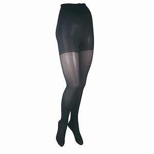 ITA-MED Graduated Firm Compression Pantyhose, Tall, Black  (20-30mm Hg)