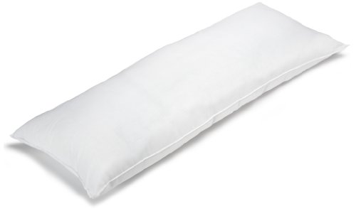 BioPEDIC Premium SofLOFT 20-by-54 Inch Body Pillow, White