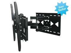LG 55LW9800 LED 3D HDTV for Full Motion Articulating Dual Arm Tilting TV Wall Mount Bracket **TOP SELLER** (Lg 42 Led 3d compare prices)