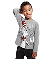 Cotton Rich Cat in the Hat T-Shirt