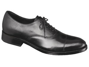 Samuel Windsor Prestige Collection Oxford Shoe Black: Size 12
