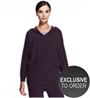 Autograph Pure Cashmere Hooded Jumper
