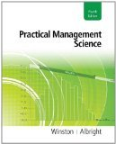 Practical Management Science 4th Edition by Winston,
