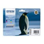 Epson T5597 6 Pack B/C/M/Y/LC/LM Ink Cartridges C13T559740 Penguin
