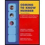 COMING TO KNOW NUMBERS