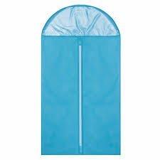 Suit Cover Skirt Dress Garment Coat Clothes Shirt Travel Storage Bag Carrier (Blue)
